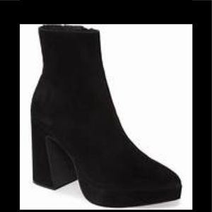 NWT Jeffery Campbell suede leather platform boot